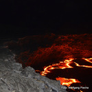 night at the magma lake