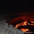 night at the magma lake