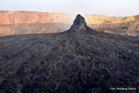 the northern caldera, Erta Ale photo