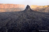 the northern caldera, Erta Ale photo