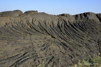 pahoehoe lava, Erta Ale photo