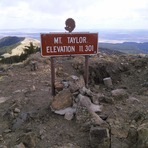 Mount Taylor Sign
