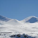 دور نمای کوه کمال و پیست سهند, Sahand