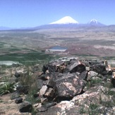 ararat mountains view from small danalo-iran(2), Mount Ararat or Agri