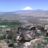 ararat mountains view from small danalo-iran(2), Mount Ararat or Agri