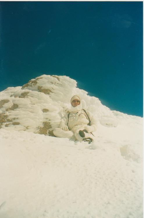 Helmos summit 2.355m