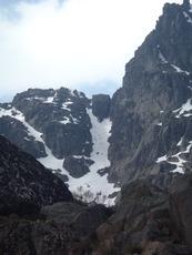 Climbing south side of Cântaro Magro photo