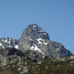 Cântaro Magro (south and east face)