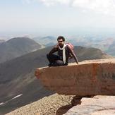 امیر حسین قانع & قله سلطان, Sahand