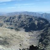A view from the top of the Almanzor, Pico Almanzor