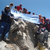 3teegh Hiking  Group, Alam Kuh or Alum Kooh