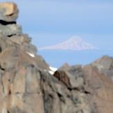 تصویر دماوند از قله کرکس اصفهان (Damavand)