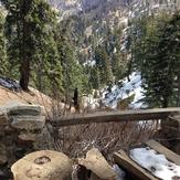water station, Mount Islip