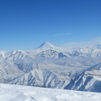 Damavand from Touchal peak