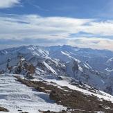 TakhteSoleyman massif from Khashchal, Alam Kuh or Alum Kooh