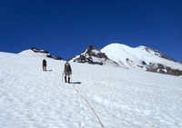 Approach to Little Tahoma  photo