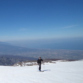 alpine ski in Mt Ossa, Mount Ossa (Greece)