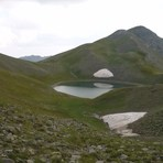 Gistova lake Grammos, Gramos