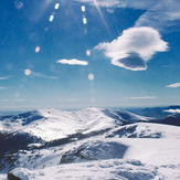 View from Penalara summit, Mount Peñalara