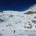 View from the Refugio Zabala, Mount Peñalara