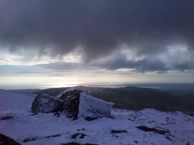 Seefin summit., Comeragh Mountains
