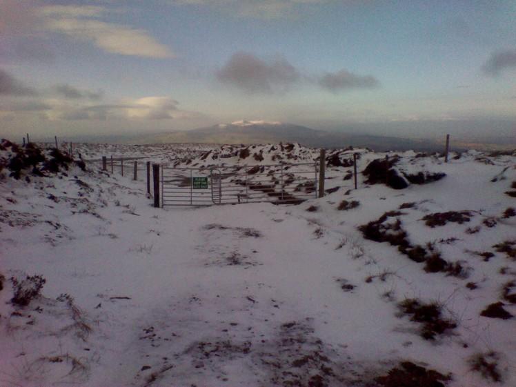 Knockmealdown mountain range from Seefin Monavullagh mts.