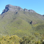 View from the Carpark, Bluff Knoll