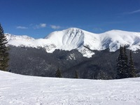 Taken from Lunch Rock in a beach chair..., Parry Peak photo