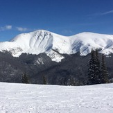 Taken from Lunch Rock in a beach chair..., Parry Peak