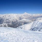 قله دماوند از قله توچال زمستان 93, Tochal