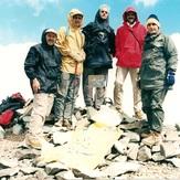 naser ramezani kholeno peak, Borj