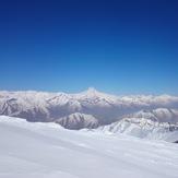 damavand view of touchal peak