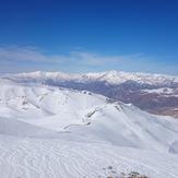 علم کوه&نازو کهار از قله توچال, Touchal