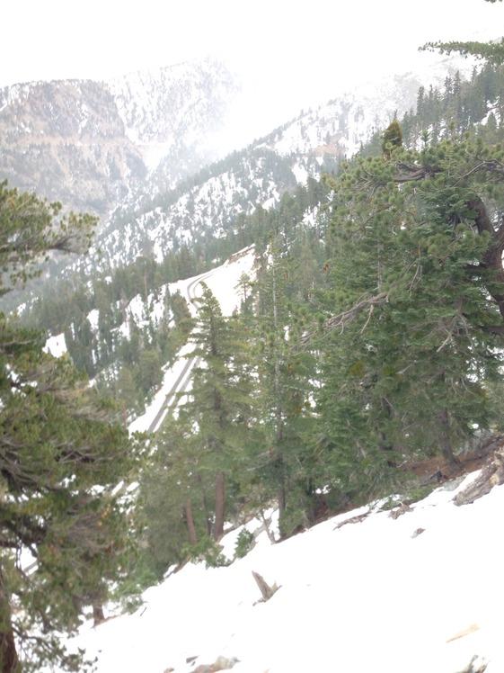 Snowed in, Mount Islip