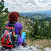 View from the mountain Zlatar, Zlatar (mountain)