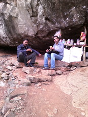 viju and rajan, Harishchandragad photo