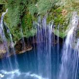 naser ramezani ab malakh waterfall, Dena