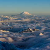 Mt. Adams and the Tatoosh Range, Mount Adams