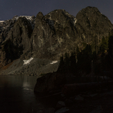 Moonlight on Mt. Index, Mount Index