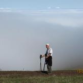 Clouds beneath the Savalan, سبلان