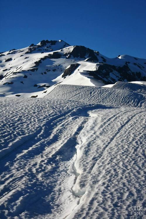 Volcán Sierra Nevada desde filo norte, Sierra Nevada (stratovolcano)