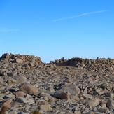 Interesting mounds of rocks at summit, San Gorgonio