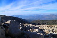 View from peak, San Gorgonio photo