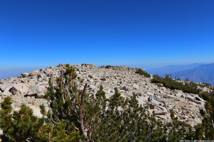 View from peak, San Gorgonio