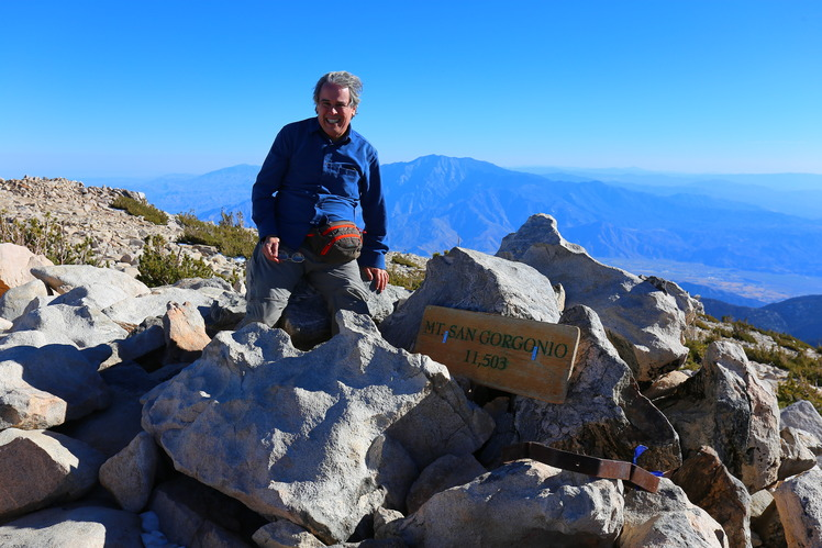Made it!, San Gorgonio