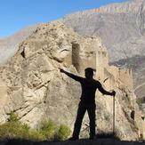 naser ramezani malek bahman castle, Damavand