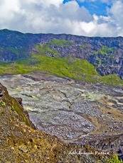 Active crater of Mt. Kaba, Mount Kaba photo