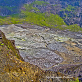 Active crater of Mt. Kaba, Mount Kaba