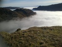 Ullswater, Helvellyn photo