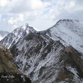 Takhte Solayman Mountain Range, Alam Kuh or Alum Kooh